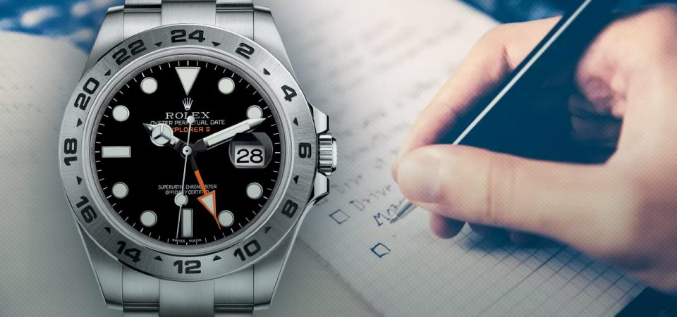 Why is Better to Buy a Rolex Watch in an Online Auction?